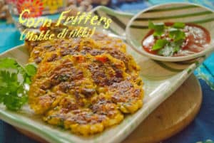 Corn fritters recipe, How to make corn fritters recipe