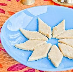 Kaju Katli – Cashew nuts Dessert